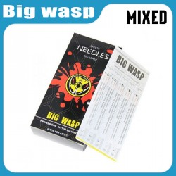 SALE - BIG WASP Premium Tattoo Needles for Professionals 8 Boxes Assorted Sizes