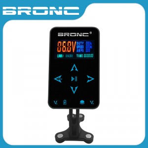 Bronc Power Supply for 2 Tattoo Machines