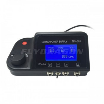Pro Dual LCD Tattoo Power Supply